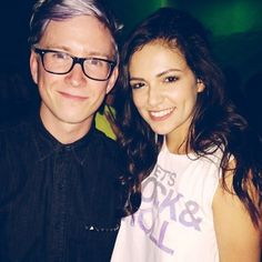 Bethany Mota and Tyler Oakley just a few nights ago! :D