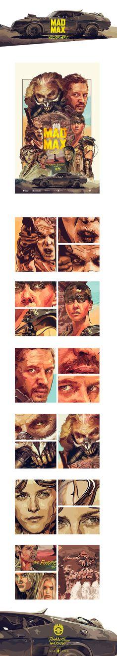 Mad Max Fury Road • Vector Art La ley y la sociedad ya no existe en este mundo formado por una páramo desértico, pero sí que hay sangre, fuego y muerte. Sin embargo, hay dos rebeldes que son capaces de restaurar el orden perdido, por un lado está Max, que sigue buscando su propia paz…