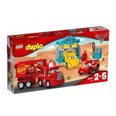 Buy LEGO DUPLO Disney Pixar Cars 3 10846 Flo's Cafe from our Construction Toys range at John Lewis & Partners. Disney Pixar Cars, Lego Disney, Toys R Us, Kids Toys, Buy Lego, Lego Dc, Lightning Mcqueen, Lego Duplo Cars, Film Cars