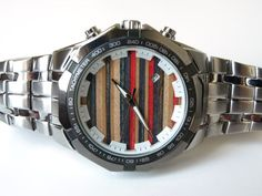 Recycled Skateboard Art  Mens Watch by SecondShot on Etsy, $235.00