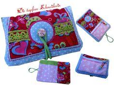 Börse *Monetenschutz* Oilily-Style von Die tapfere Schneiderin, handmade with love ... by Viola auf DaWanda.com