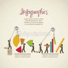 infográficos — Ilustração de Stock #12783487
