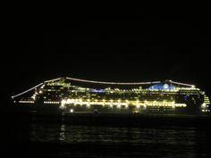 Navio MSC - Ilha Grande - RJ - Night Lights