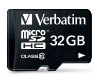 Verbatim 44083 Class 10 Micro SDHC with Adapter The Verbatim 44083 Class 10 Micro SDHC with Adapter - 32GB is currently the smallest form factor of memory card available. MicroSDHC memory cards are designed especially for mobile phones, and this ti http://www.MightGet.com/may-2017-1/verbatim-44083-class-10-micro-sdhc-with-adapter.asp