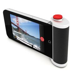 POPA is the big red button for your iPhone camera. Push POPA onto your iPhone 4 or iPhone 4S and the free POPA app springs to life so you can start snapping photos like you used to - with a lovely big button!  I've been waiting for this release. -Mesa approved.