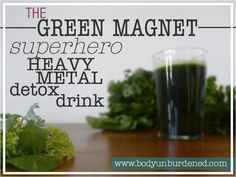 This heavy metal detox drink is packed with powerful binding and chelating superfoods to help safely eliminate harmful heavy metals.