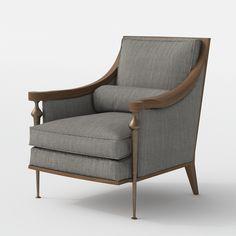 3d model u2013 armchair 01