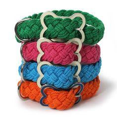 Braided Sailor Knot Dog Collar