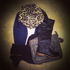 Cold Weather Outfit Idea