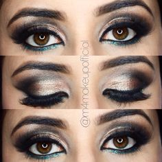 Makeup look of the day @m4makeupofficial on Instagram Makeup Looks, Eyeshadow, Beauty, Instagram, Beleza, Make Up Looks, Eye Shadows, Eye Shadow, Eyeshadows