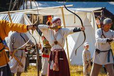 Costume Eastern Slavs: Vyatichi, 11 се. Александра Юдина