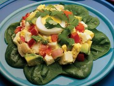 tomato-avocado-egg salad