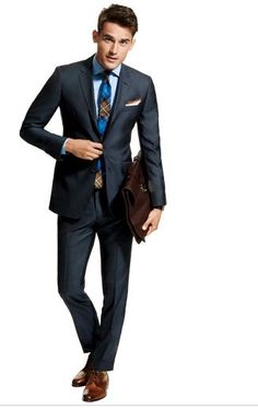 How to wear a suit
