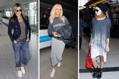 Steal Airport Style from Your Favorite Celebs - Celebrity Airport Style - Elle