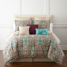 jcp | JCPenney Home™ Casbah 4-pc. Comforter Set & Accessories