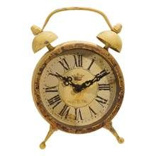Chelsea - Magnet Clock in Antique Yellow