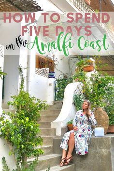 If you're planning to visit the #AmalfiCoast this is the perfect five day itinerary example! From things to do, to places to eat, sights to see and where to base yourself - my guide provides all the details you need to plan a perfect Amalfi Coast trip! #ItalyTravel #Italy
