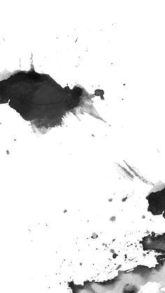 Minimal black white ink splash iphone phone wallpaper background lock screen - My Wallpaper White Wallpaper For Iphone, White Background Wallpaper, Minimal Wallpaper, Black And White Background, Trendy Wallpaper, Black And White Abstract, Black Wallpaper, Background Images, Black White