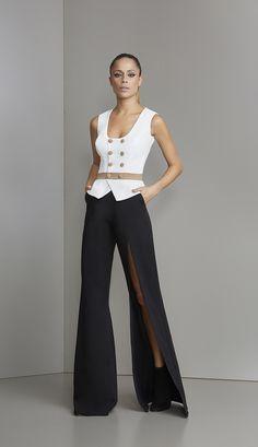 MACACÃO CREPE DETALHES BOTÕES - MAC18440-OF | Skazi, Moda feminina, roupa casual, vestidos, saias, mulher moderna
