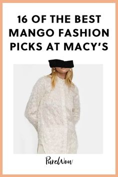 From Leandra Medine's recent collab to staple wear-every-day items, here are 16 of the very best Mango picks to shop right now. Chic Fall Fashion, Fall Fashion Trends, Style Fashion, Mango Fashion, 80s Trends, Chic Outfits, Denim Flares, Shearling Jacket, Types Of Dresses