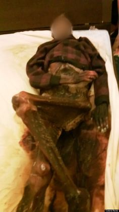 Widow Sleeps With Dead Husband's Decomposing Corpse For A Year After His Death (GRAPHIC PHOTOS)