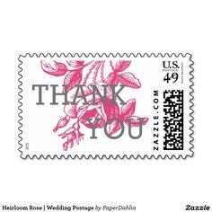 Heirloom Rose | Wedding Postage