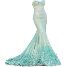 Like water encapsulating your body, so this dress flows around you. You will make quite the entrance in this Beautiful, jaw dropping gown..k♥