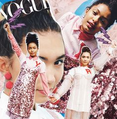 Teen Vogue // Labyrinth of Collages #labyrinthofcollages