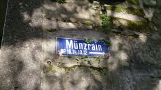 Street name sign. Street Name Sign, Street Names, Bern, Name Signs, Switzerland, Name Labels, Name Tags