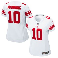 Eli Manning New York Giants Nike Women s Game Jersey - White 70c1dd9a5
