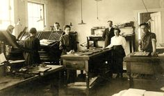 The Stanstead Journal Printing Office, 1905. Eastern Townships, Quebec.