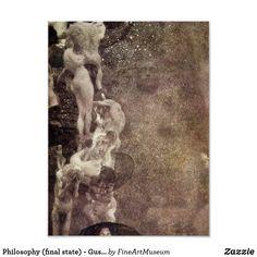 Philosophy (final state) - Gustav Klimt Poster | Zazzle.com