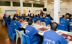 EBI class for male inmates at MCJ