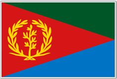 Eritrea Flag - Download Picture of Blank Eritrea Flag For Kids to Color