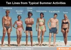 Haha! The wrestling and Facebook tan lines cracked me up
