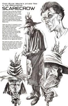 Batfiles: Scarecrow •Alex Ross