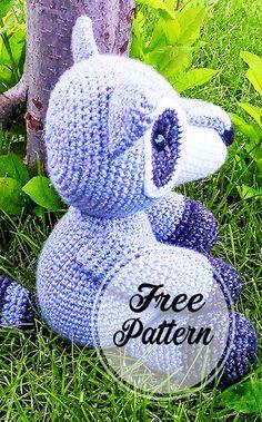 Crochet Bear Patterns, Crochet Animals, Amigurumi Patterns, Amigurumi Free, Amigurumi Doll, Crochet Yarn, Crochet Toys, Amigurumi For Beginners, Crochet Doll Dress