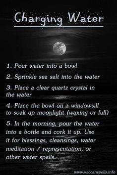 Charging water