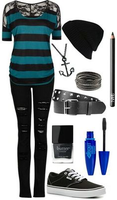 This is a cute outfit