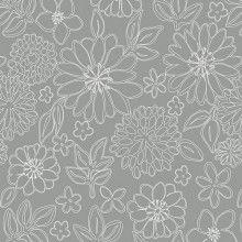 Gossamer Knits - Wire Flowers in Foil
