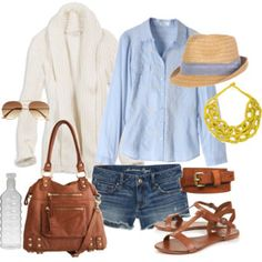 Cute outfit. The hat is my favorite!