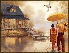 rain animation photo: Rain-love countryrain.gif
