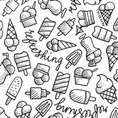 Ice, ice baby! #illustration #drawing #doodle #paperfuel