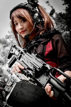 Girl with a Weapon girl guny cam strip Military girl . Women in the military . Women with guns . Girls with weapons Gunslinger Girl, Outdoor Girls, Foto Real, Military Girl, Tough Girl, N Girls, Army Girls, Fantasy Photography, Warrior Girl