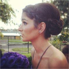 Bridesmaid Hair for Turi's wedding