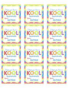 graphic relating to Have a Kool Summer Printable named Julie Leonard (julie2717) upon Pinterest