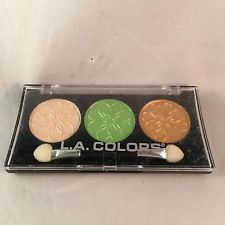 L.A. Colors Eyeshadow 3 Shades Palette Marigold Brand New Makeup Cosmetics