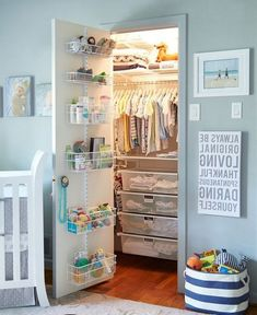 20 Awesome Closet Organization Ideas Nursery Organizationnursery Storagecloset