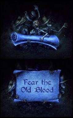 Bloodborne Messengers - Wallpaper and Template DL by sohlol.deviantart.com on @DeviantArt