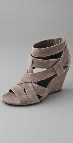 Grey suede sandal- Shop Bop